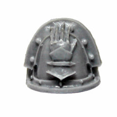 Warhammer 40K Space Marine Forgeworld Iron Hands MKIII Shoulder Pad