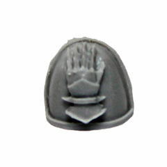 Warhammer 40K Space Marine Forgeworld Iron Hands MKIV Shoulder Pad