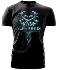 Warhammer 40k Forgeworld Event Only T shirt Alpha Legion I Am Alpharius Black