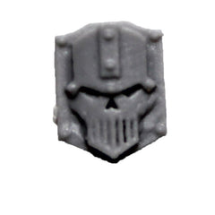 Warhammer 40K Space Marine Iron Warriors Iron Circle Domitar Insignia