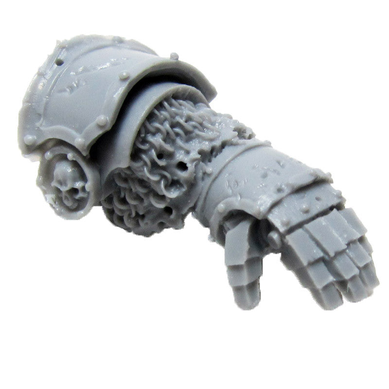 Warhammer 40k Forgeworld Grave Wardens Power Fist C Left Bits Death Guard