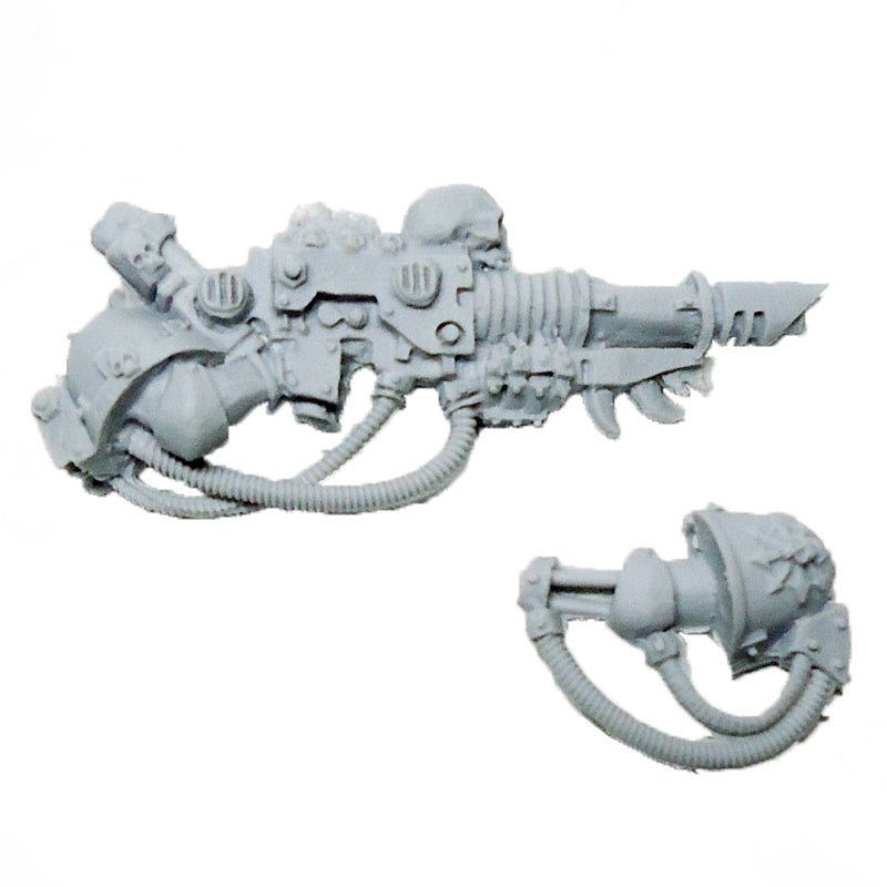 Warhammer 40K Chaos Space Marine Iron Warriors Lascannon Finecast Bits