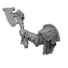 Warhammer 40K Chaos Marines World Eaters Angron Gorechild Chainaxe Left Arm