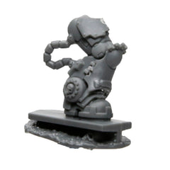 Warhammer 40K Space Marine Games Workshop Iron Hands Iron Father Feirros Leg Right