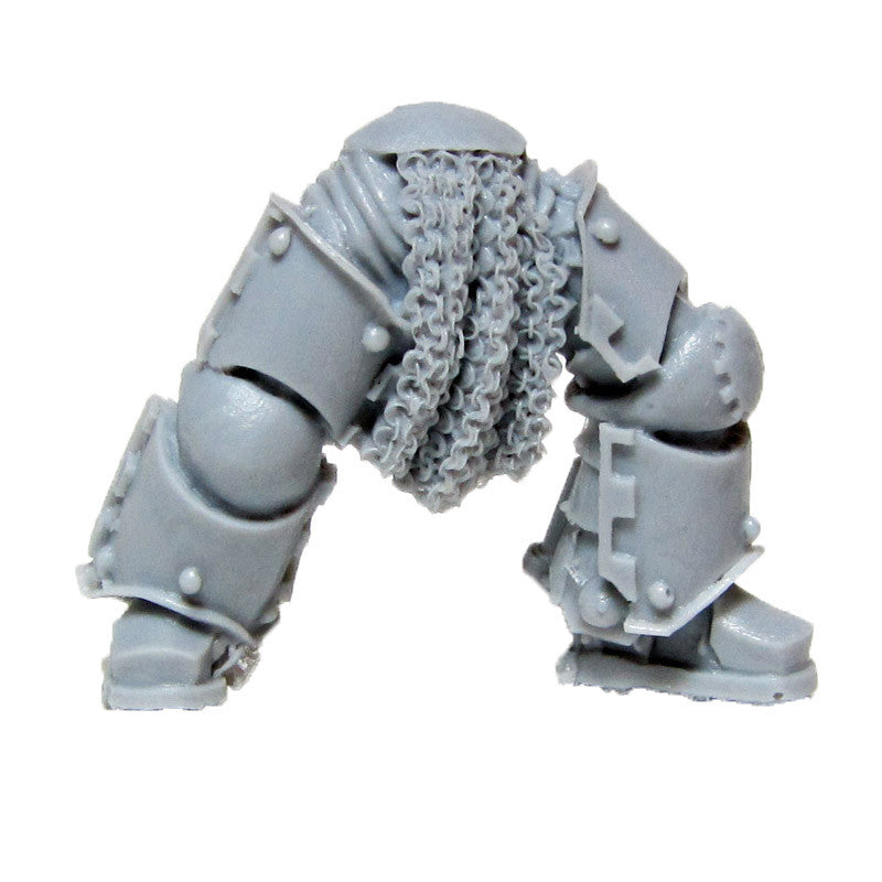 Warhammer 40K Space Marine Forgeworld Iron Hands MKIII Legs C Bits