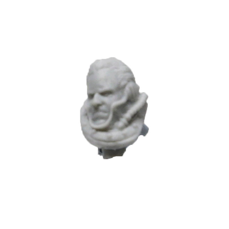 Forgeworld Solar Auxilia Tactical Command Lord Marshal Head Bare