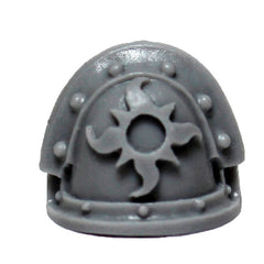 Warhammer 40K Chaos Space Marine Thousand Sons MKIII Shoulder Pad Bits