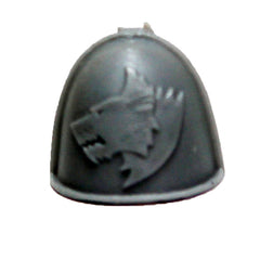 Warhammer 40K Marines Forgeworld Space Wolves MKIV Shoulder Pad Bits