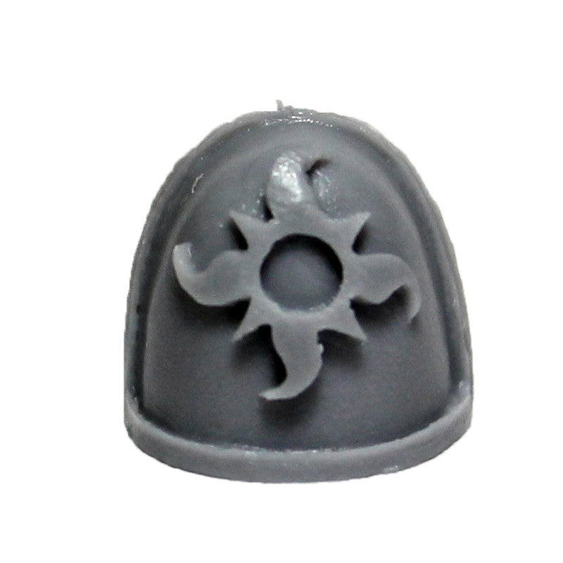 Warhammer 40K Chaos Space Marine Thousand Sons MKIV Shoulder Pad Bits