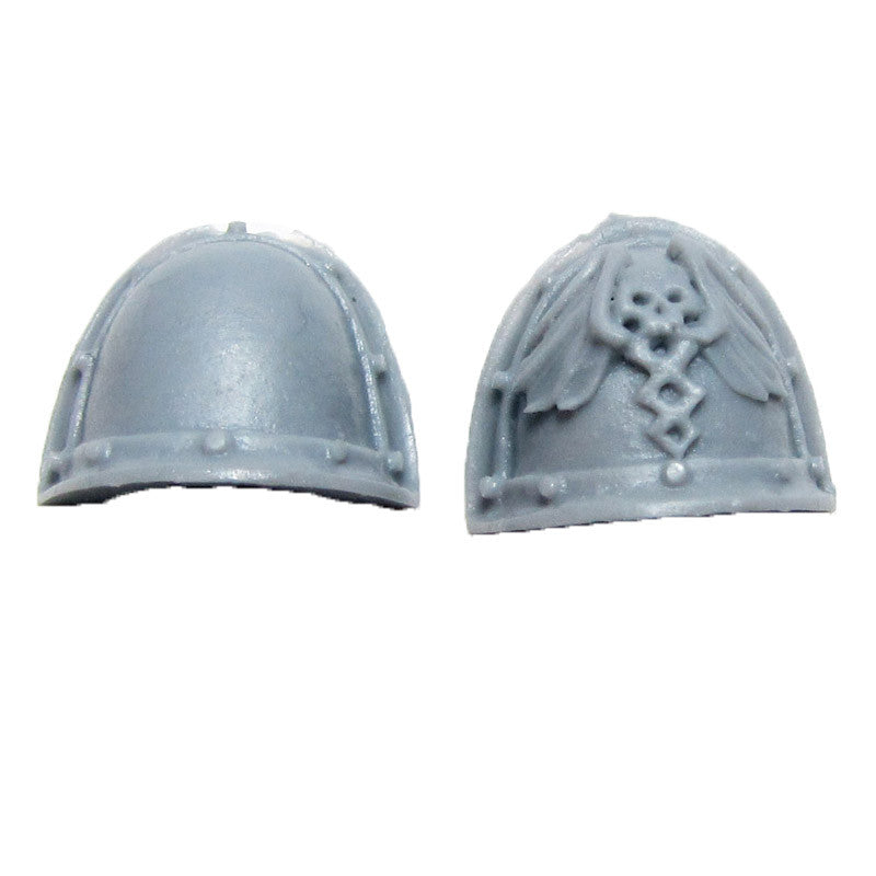Warhammer 40K Space Marines Forgeworld Legion MKII Apothecary Shoulder Pads Pair