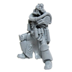 Warhammer 40K Space Marines Forgeworld Legion MKIV Apothecary Torso, Legs & Head