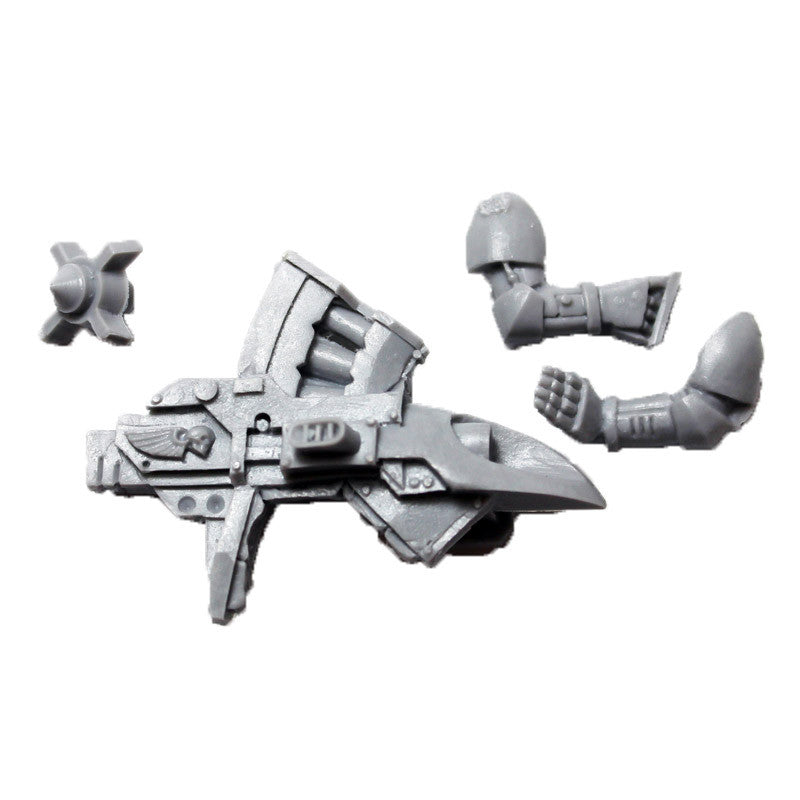 Warhammer 40K Space Marines Forgeworld Legion Missile Launcher With Arms