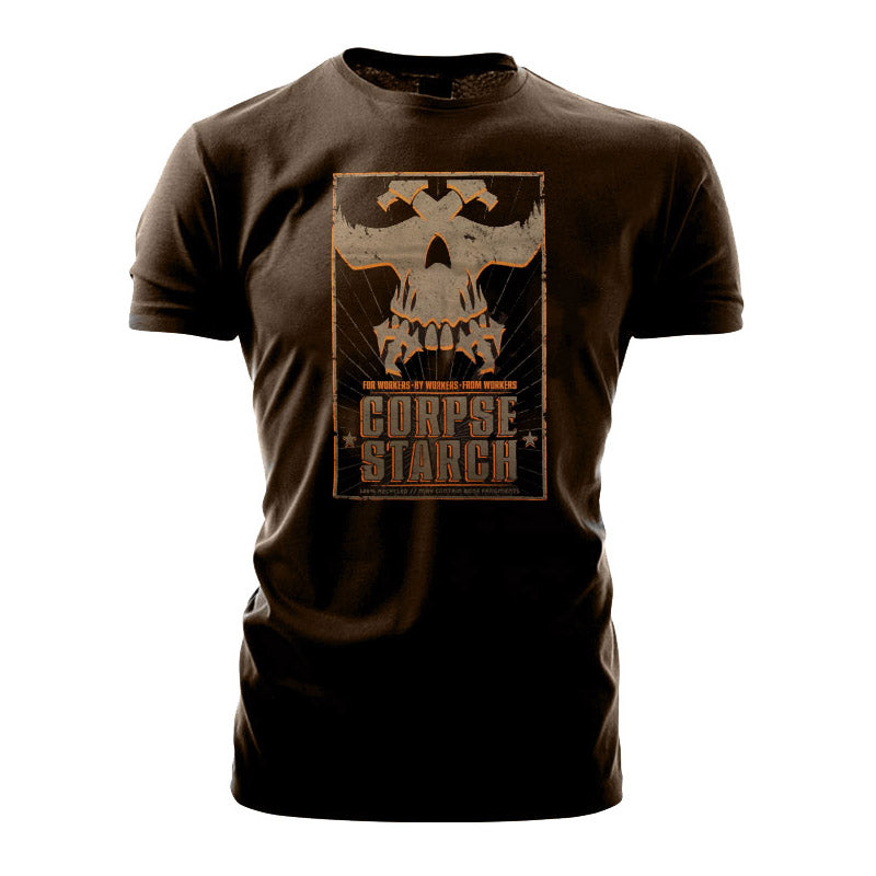 Games Workshop Warhammer World T shirt Necromunda Corpse Starch Black