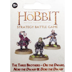 Warhammer World The Hobbit Three Brothers Ori Nori Dori Event Dwarf Event