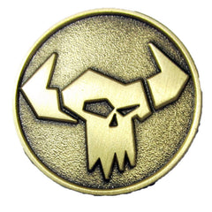 Warhammer 40k Games Workshop Warhammer World Ork Pin Badge