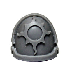 Warhammer 40K Forgeworld Space Marines Thousand Sons Achean Shoulder Pad B