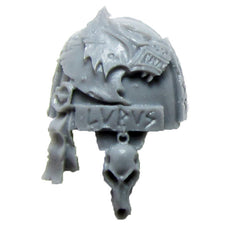 Warhammer 40K Marines Forgeworld Space Wolves Terminator Shoulder Pad E Bits