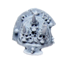 Warhammer 40k Forgeworld Chaos Terminator Death Guard Nurgle Shoulder Pad G Bits