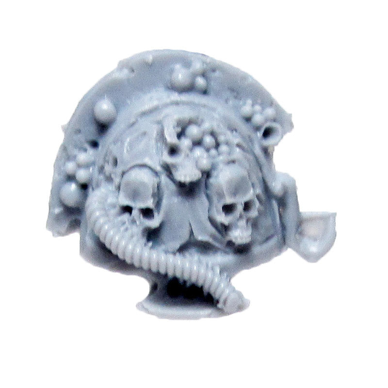 Warhammer 40k Forgeworld Chaos Terminator Death Guard Nurgle Shoulder Pad H Bits