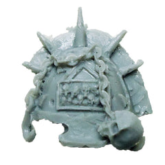 Warhammer 40K  Chaos Marines World Eaters Terminator Shoulder Pad Left A Bits