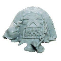 Warhammer 40K  Chaos Marines World Eaters Terminator Shoulder Pad Left B Bits