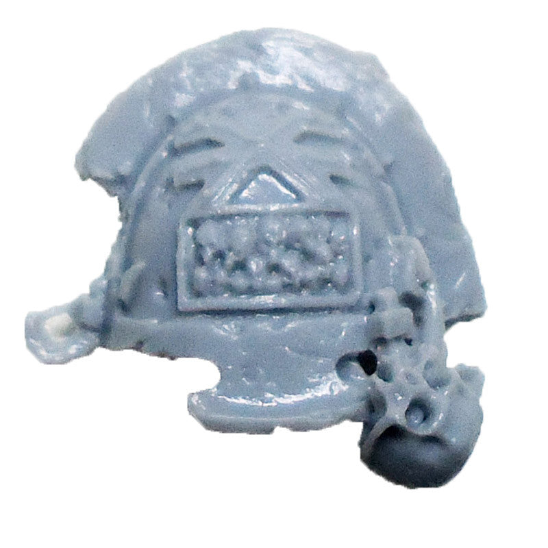 Warhammer 40K  Chaos Marines World Eaters Terminator Shoulder Pad Left C Bits