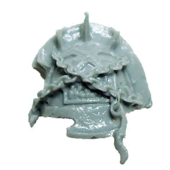 Warhammer 40K  Chaos Marines World Eaters Terminator Shoulder Pad Left D Bits