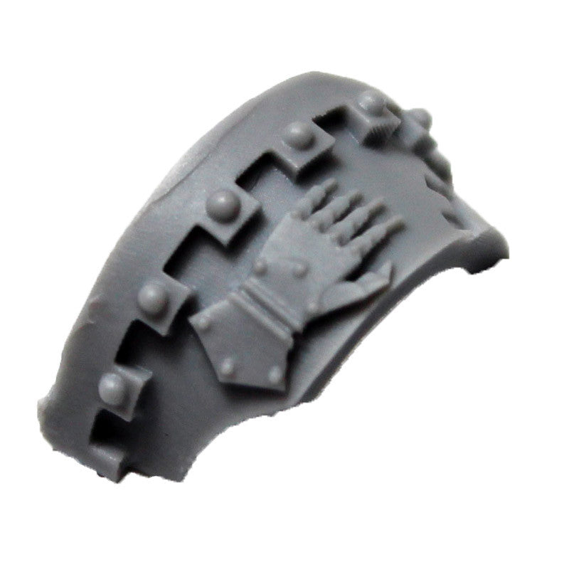 Warhammer 40K Space Marine Forgeworld Iron Hands Cataphractii Shoulder Pad Left
