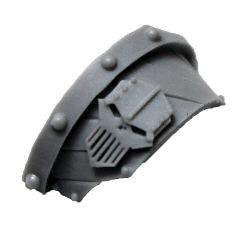 Warhammer 40K Chaos Space Marine Iron Warriors Cataphractii Shoulder Pad Left