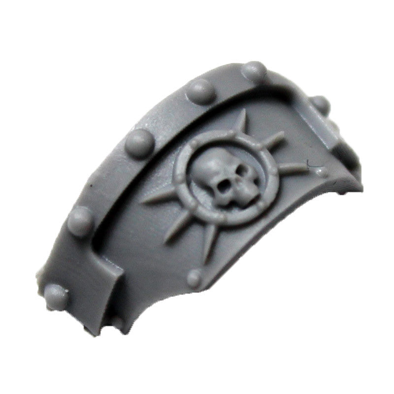 Warhammer 40k Forgeworld Death Guard Cataphractii Shoulder Pad Left