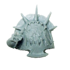 Warhammer 40K  Chaos Marines World Eaters Terminator Shoulder Pad Right A Bits