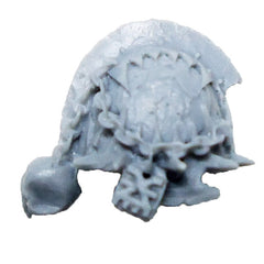 Warhammer 40K  Chaos Marines World Eaters Terminator Shoulder Pad Right B Bits