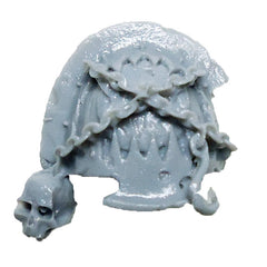 Warhammer 40K  Chaos Marines World Eaters Terminator Shoulder Pad Right C Bits