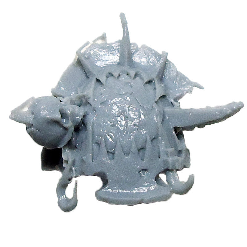 Warhammer 40K  Chaos Marines World Eaters Terminator Shoulder Pad Right E Bits
