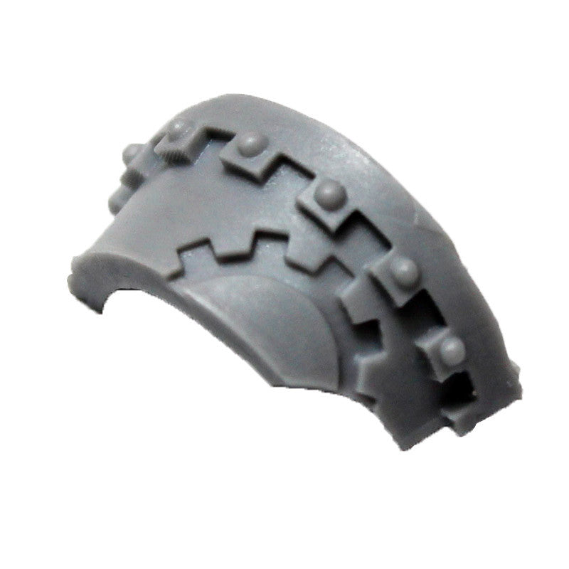 Warhammer 40K Space Marine Forgeworld Iron Hands Cataphractii Shoulder Pad Right