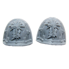 Warhammer 40k Forgeworld Astral Claws Valthex Techmarine Shoulder Pad Pair