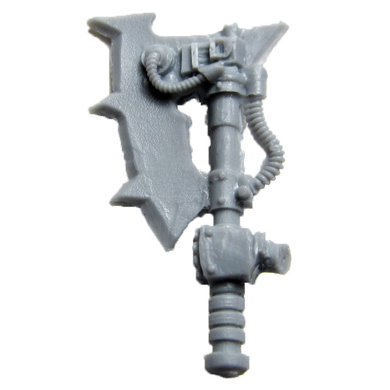 Warhammer 40K Forgeworld World Eater Red Butcher Power Axe Left B Bits