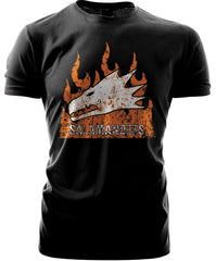 Warhammer 40k Forgeworld Event Only T shirt Salamanders Black
