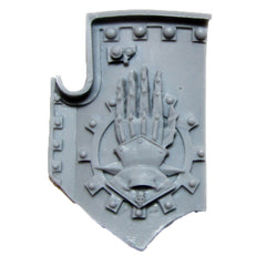 Warhammer 40K Space Marine Forgeworld Iron Hands Medusan Immortals Shield A
