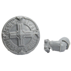 Warhammer 40K Marines Forgeworld Space Wolves Grey Slayers Upgrade Storm Shield B