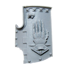 Warhammer 40K Space Marine Forgeworld Iron Hands Medusan Immortals Shield B