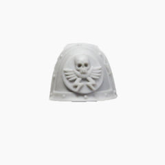 Warhammer 40K Forgeworld Space Marines White Scars Praetor Shoulder Pad A