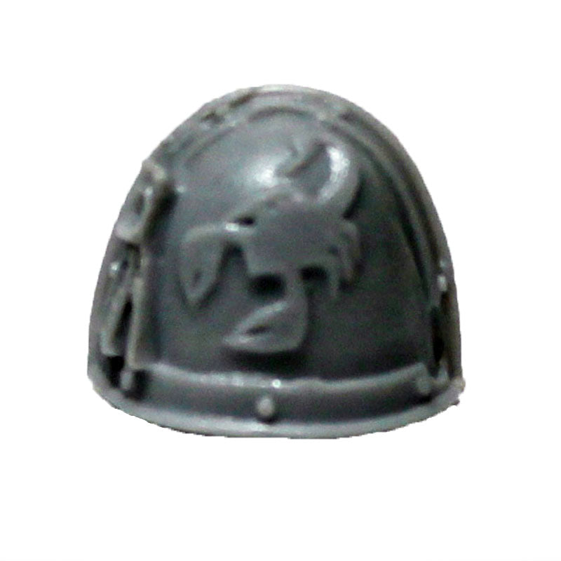 Warhammer 40K Forgeworld Space Marine Red Scorpions Vanguard Shoulder Pad A