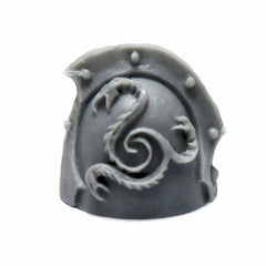 Warhammer 40K Forgeworld Space Marines Alpha Legion Head Hunter Shoulder Pad A