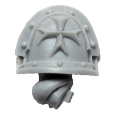 Warhammer 40K Forgeworld Imperial Fists Templar Brethren Shoulder Pad Arm A R