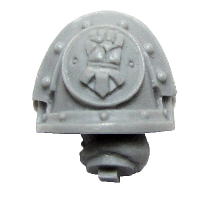 Warhammer 40K Forgeworld Imperial Fists Templar Brethren Shoulder Pad Arm B L