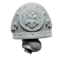 Warhammer 40K Forgeworld Imperial Fists Templar Brethren Shoulder Pad Arm C L