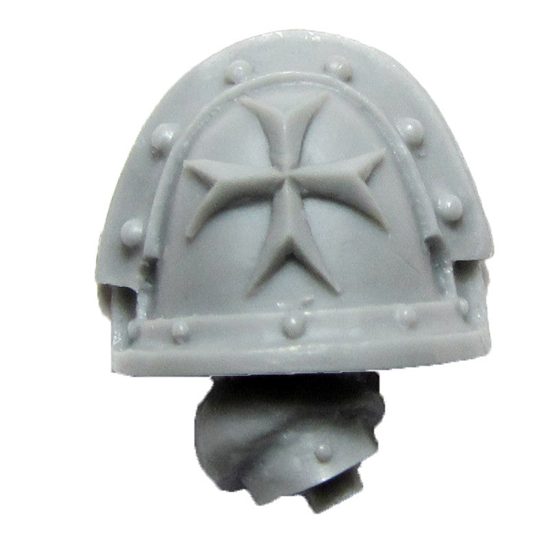 Warhammer 40K Forgeworld Imperial Fists Templar Brethren Shoulder Pad Arm D R