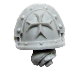 Warhammer 40K Forgeworld Imperial Fists Templar Brethren Shoulder Pad Arm E R
