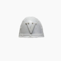 Warhammer 40K Forgeworld Space Marines White Scars Praetor Shoulder Pad B